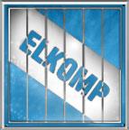 Logo sklepu komputerowego Elkomp