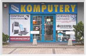 Siedziba serwisu komputerowego ELKOMP w Krakowie