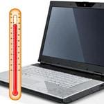 przegrzewajacy się laptop